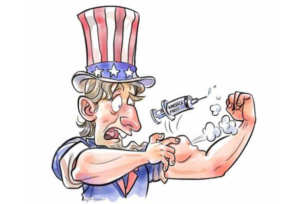 'America first' erodes U.S.' soft power
