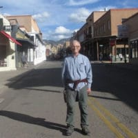 Michael D. Yates in Santa Fe, NM on March 10, 2020.
