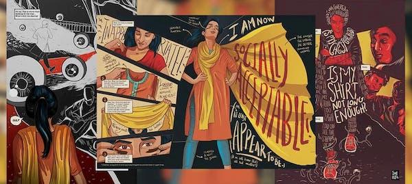 Shehzil Malik, Women in Public Places, 2012.