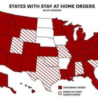 States with 'Stay-at-Home'
