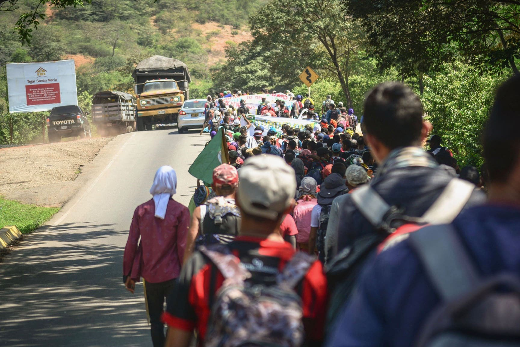   Tens of thousands will participate in the strike across Colombia on November 21 Photo Colombia Informa   MR Online