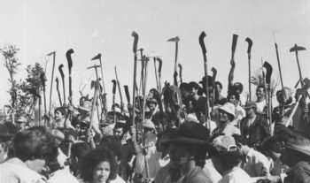   The Peasant Leagues Ligas Camponesas were among the first organisations in rural Brazil to adopt agrarian reform as a political line Their primary slogan was agrarian reform by law or by force Artist unknown   MR Online