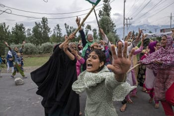 Dar Yasin (Associated Press), Srinagar, Kashmir, 9 August 2019.