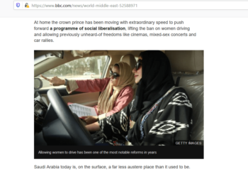 Women driving Saudi Arabia