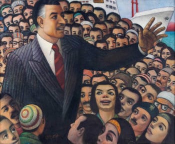 Hamed Ewais (Egypt), The Leader and the Nationalisation of the Canal, 1957.