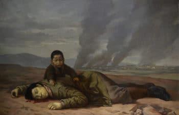 Wojciech Fangor (Poland), Korean Mother (1951), National Museum in Warsaw.