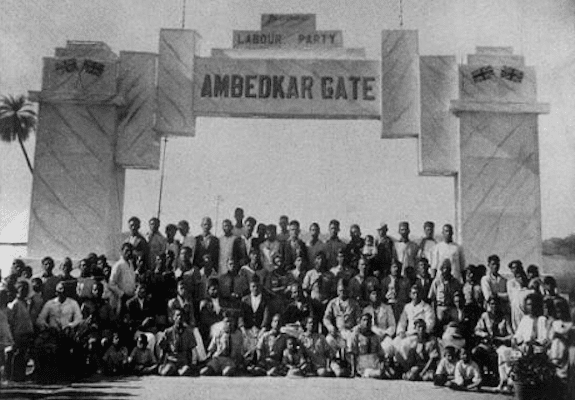 Wikimedia Commons File:'AMBEDKAR GATE' during conference of Independent Labour Party ...
