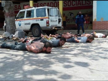 | Paramilitaries financed by the US and Colombian governments are captured by conventional security forces and members of the Bolivarian Militia Photo Twiter | MR Online