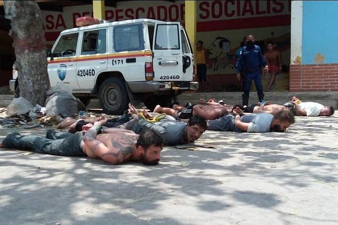   Paramilitaries financed by the US and Colombian governments are captured by conventional security forces and members of the Bolivarian Militia   MR Online