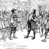 Black and white people united during the Bacon's Rebellion in 1676 (Pic: Morgan Riley/Wikimedia)