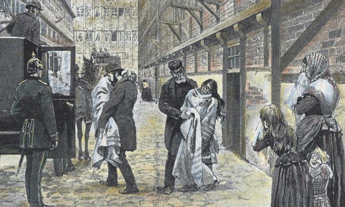   1892 Hamburg cholera epidemic   MR Online
