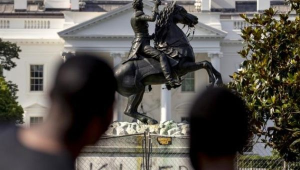 | This comes as a wave of protests against racism and the toppling of statues has engulfed the US and Europe which were sparked by George Floyds killing on May 25 | Photo AFP | MR Online