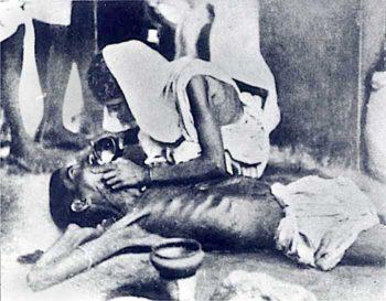 Bengal famine 1943. (Wikimedia Commons)