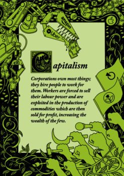 Capitalism posters