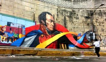 Morale and lights. Chapellín, Caracas. 2014. Comando Creativo
