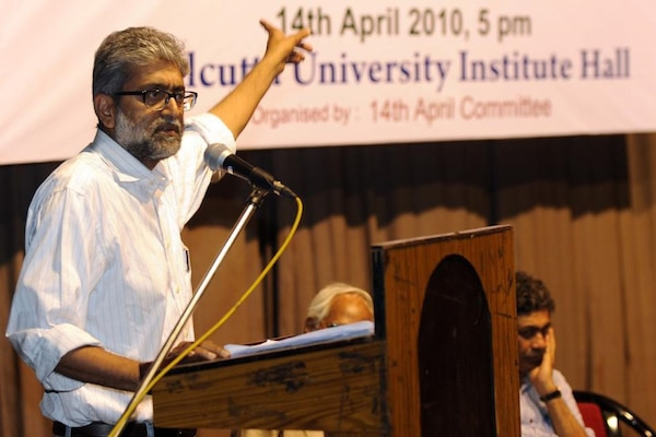Gautam Navlakha has consistently taken positions against the oppressive actions of the Indian state.