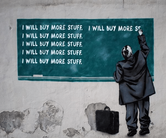 Glasgow Times Glasgow's Banksy slams Black Friday consumerism in West End mural ...