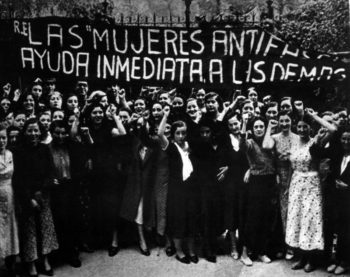 Anti-fascist women in the Spanish Civil War (1936-1939)