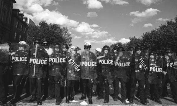 Coercive capitalism: why neoliberalism loves police
