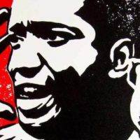 Fred Hampton by Jacob Anikulapo (2010), Flickr