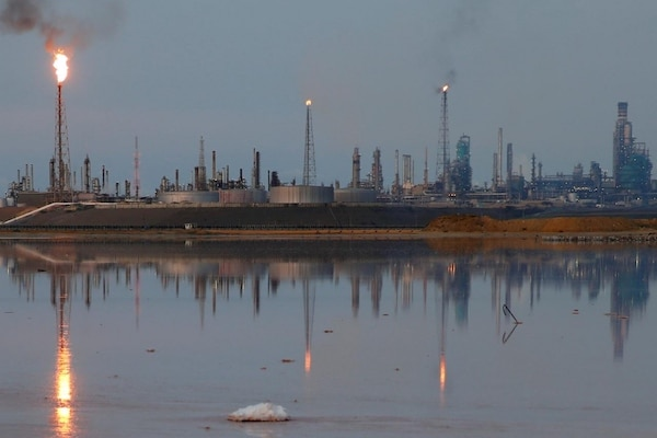 The Amuay refinery in Punto Fijo, western Venezuela. Amuay and Cardon form the Paraguana Refinery Complex, which is the third largest in the world. (Reuters/Carlos Garcia Rawlins)