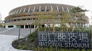 New National Stadium was completed in 2019
