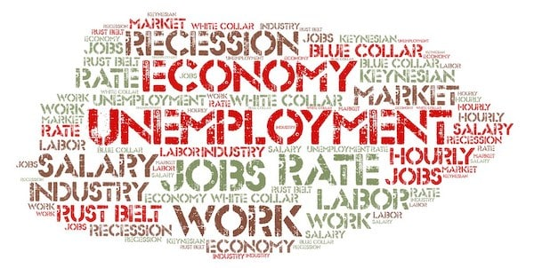 "Flickr Unemployment | A wordcloud featuring ""Unemployment"". Would a… 