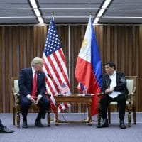 President Rodrigo Roa Duterte and US President Donald Trump