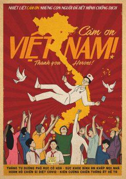 Cảm ơn Việt Nam! ('Thank you, Vietnam!'), Vietnam, 2020. Hiep Le Duc