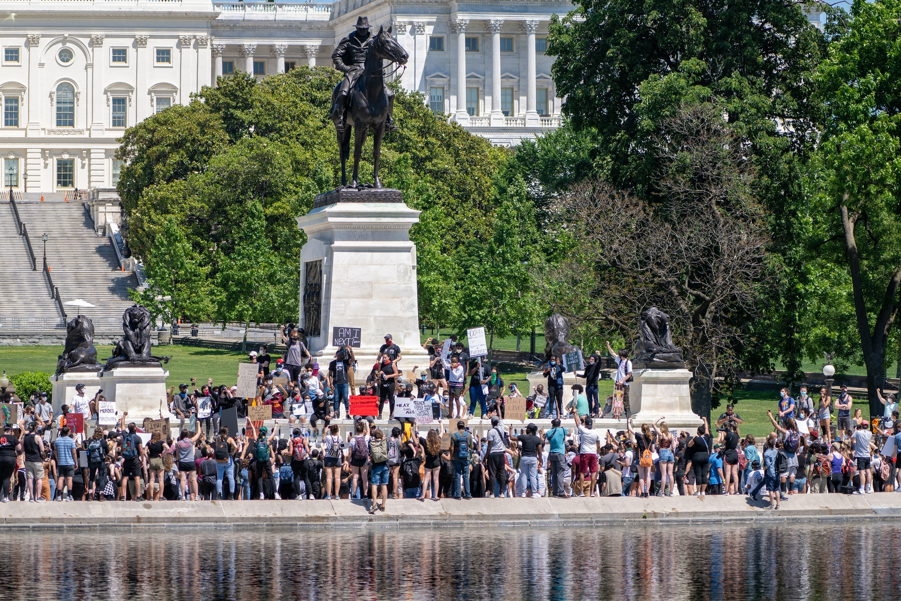 | Protesting the murder of George Floyd in Washing DC March 30 2020 | MR Online