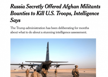 | Rachel Maddow indecorously put it on Fridaybounty for the scalps of American soldiers in Afghanistan | MR Online