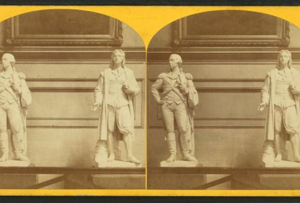 Stereoscopic views of the U.S. capitol / John F. Jarvis