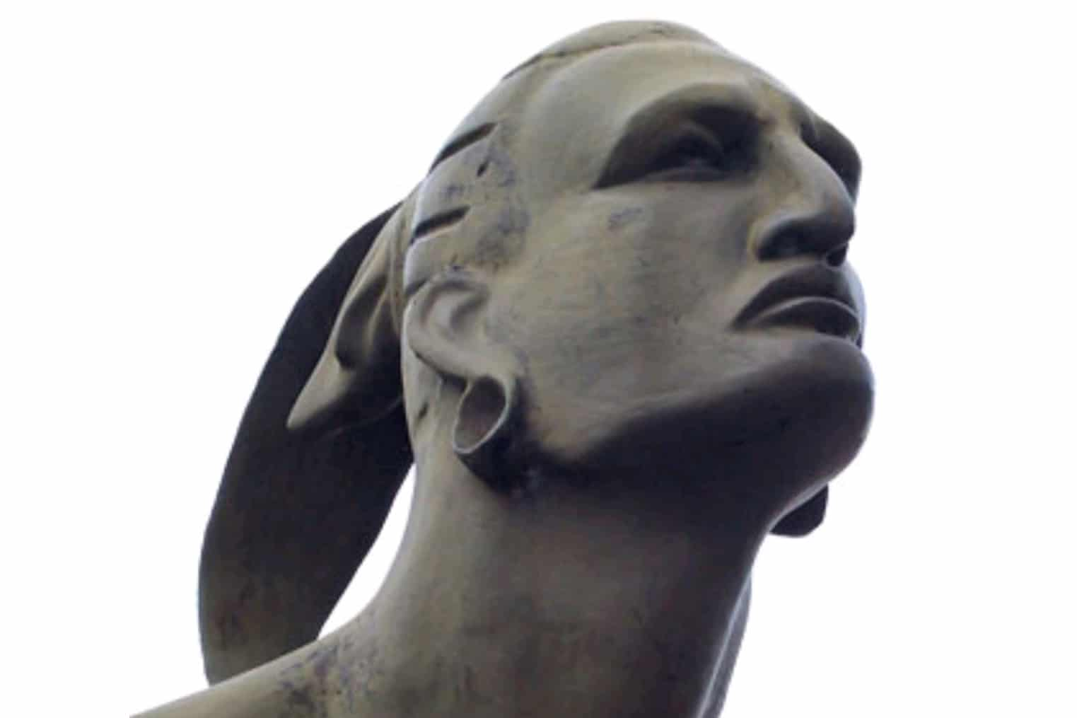 | Bust from the statue of Taino Chief Hatuey in Baracoa Cuba | MR Online