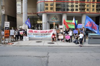 Against U.S.-Duterte's Terror Law: Toronto, Canada