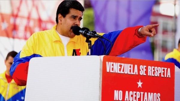 | Venezuela must be respected We dont accept sanctions Photo Venezuela Analysis | MR Online