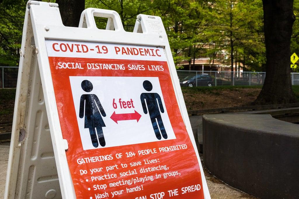| Arlington county Washington DCsignage during COVID19 outbreak | MR Online