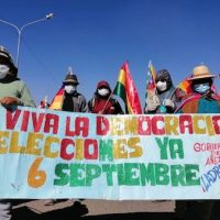 Bolivia Begins the Week with an Indefinite General Strike and Roadblocks