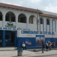 Police station in Cité Soleil, located in the Port-au-Prince metropolitan area in Haiti. Photo by James Emery/Flickr.