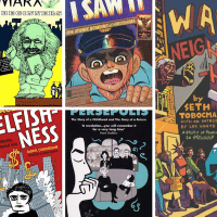Five graphic novels and cartoons to politicise and criticise