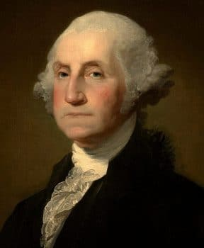 George Washington: Turns out I can tell a lie.