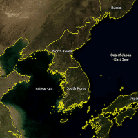 Korean Peninsula en - Wikimedia Commons