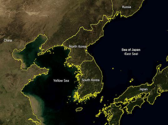 Korean Peninsula en - Wikimedia Commons