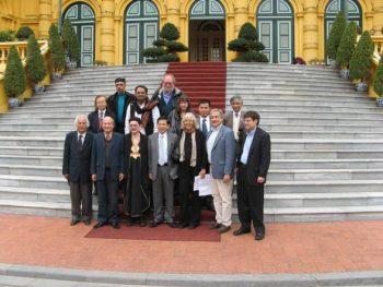 Samir Amin and John Bellamy Foster in December 2009