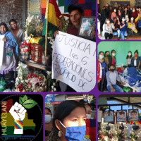 Bolivia mass mobilizations against U.S.-backed coup continue