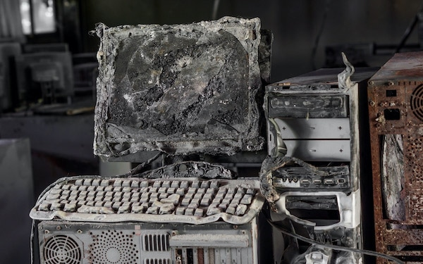 Burned/Old Computers