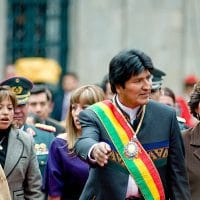 Wikipedia Evo Morales 2 year Bolivia (Photo: Joel Alvarez -Wikipedia)