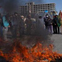 Roadblock Bolivia