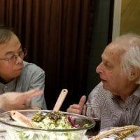 Huang Ping and Samir Amin, Beijing, 2018
