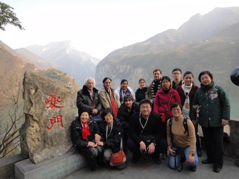Samir Amin in China, 2012