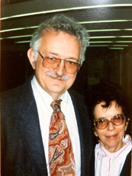 Immanuel Wallerstein and his wife Beatrice